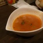 セブンストック - ワンプレートランチのセットのスープ