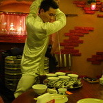 中国茶房8 - お茶 パフォーマンス1