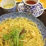 五右衛門 - 料理写真:海老とアボガドとフレッシュハーブのジェノバ風