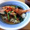 湾岸食堂 - 料理写真:金目鯛の唐揚です。