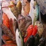 日本橋にぎにぎ一 - 五島列島で朝漁れた新鮮な魚を寿司や刺身でお召し上がり下さい。