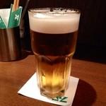 マーケット112 - プレミアムモルツ生・グラス大:600円
