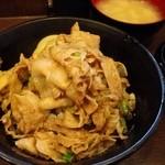 名物すた丼の店 - 201401 ミニすた丼540円、肉増し130円