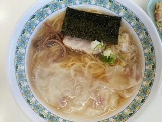 大吉製麺 - ワンタンメン(Bセット800円)