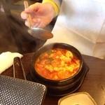 韓国料理マニト - スンドゥブチゲ