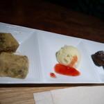 紗羅餐 - レディースセットの甘味