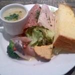 ビストロ オリーブ - 前菜とスープ
