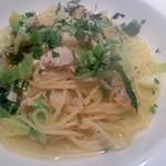 ビストロ オリーブ - 魚介のラグと春キャベツのパスタ