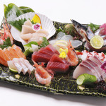 居酒屋 一 - 料理写真:お刺身大漁盛り