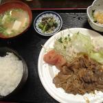 石立屋 - ある日の日替わり定食(750円)