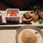 豆乳とんしゃぶ 寅太郎 - 前菜