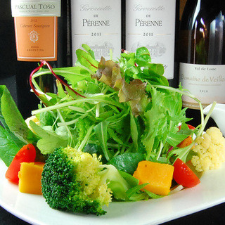 野菜にこだわってます!