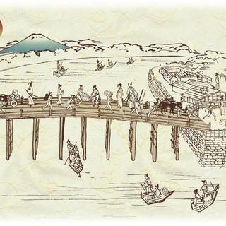 壁紙は日本橋!