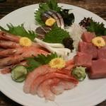 和乃家 - 料理写真:刺身盛り合わせ(3人前)