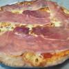 風の家 - 料理写真:生ハムのピザ