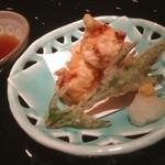 さかな市場 - 海老と山芋ふわふわ揚げ