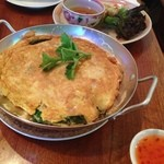 ベトナムレストランシクロ - ヌクマム風味の玉子焼き