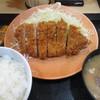 かつや - 料理写真:ロースかつ定食 724円