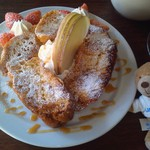 しょこら亭 - ふわふわフレンチトースト500円