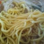 火門拉麺 - 麺アップ