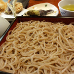 手打ち蕎麦 わびすけ - 料理写真:天蕎麦1380円