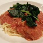 23966196 - ツナと青菜のトマトソース(2013/12)