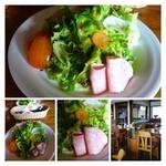 レストランITOSHIMA - サラダ・・糸島野菜タップリですよ。ハムも添えられていましたが、美味しい。