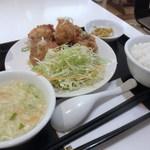 王記厨房 - 油淋鶏 590円