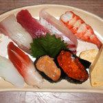てるちゃん寿司 - 季節の握り