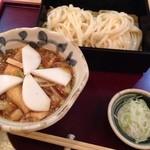 手打ち蕎麦・うどん 彩め - むじなうどん¥850