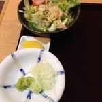手打ち蕎麦・うどん 彩め - 天丼とざるそばセット¥980