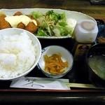 むら田 - カキフライ定食