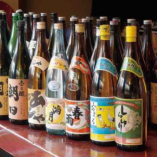 泡盛と本格焼酎の種類の多さは松本でダントツ