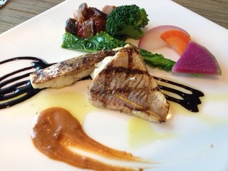 フライヤーズテーブル - レディースランチメイン 鯛とイトヨリ