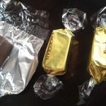 トラットリア シェ ラパン - 201209 シェ・ラパン ドリンクバー付近で見つけたチョコレート(゜o゜)!