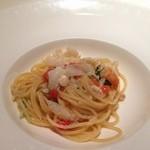 ジャルディーノ蒲生 - 海の幸と白ワインソース仕立てのパスタ^ ^