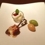 ジャルディーノ蒲生 - デザートはティラミス、抹茶とキャラメルのジェラート、ババロアを頂きました!^ ^