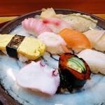 みどり寿司 - 料理写真:ランチ「にぎりいっぱい」