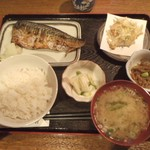 たか村 - 焼魚定食(サバ)