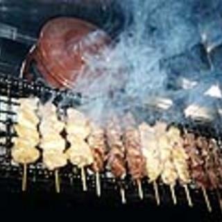 大山鶏を使った旨い串焼きをリーズナブルに。