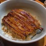23982641 - うな丼(小鉢、肝吸い付で3000円)