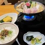 日本料理 旬坊 - 鶏ごまスープ鍋膳