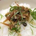 日本料理 旬坊 - じゃこ山椒