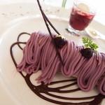 23985545 - 紫芋のもんぶらーん♡