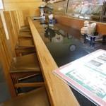 寿司の大将 - 寿司屋のカウンターで頂きました♪