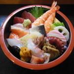 寿司の大将 - 日替わりちらし寿司¥1050(税込)