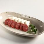 ハーツカフェ - チーズサラミ