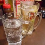 池袋酒場 情熱ホルモン - 中々(水割り)&ハイボール