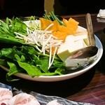 琉味 - しゃぶしゃぶ用野菜盛