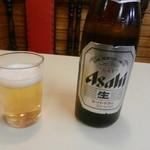 福水園 - ビール(アサヒスーパードライ)